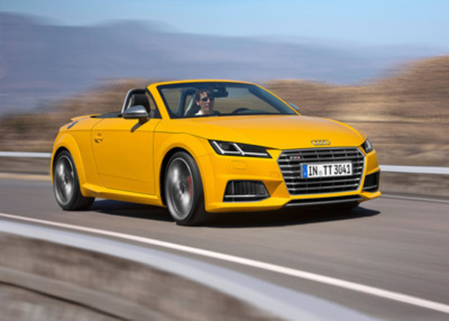 Audi Canada Launches Tt Roadster Tts Coupe Rs 7