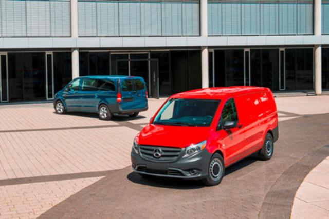 Mercedes benz metris mid size commercial van makes its for Mercedes benz work van commercial