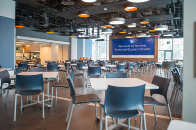 American Express Com >> American Express moves to new state-of-the-art facility in Toronto