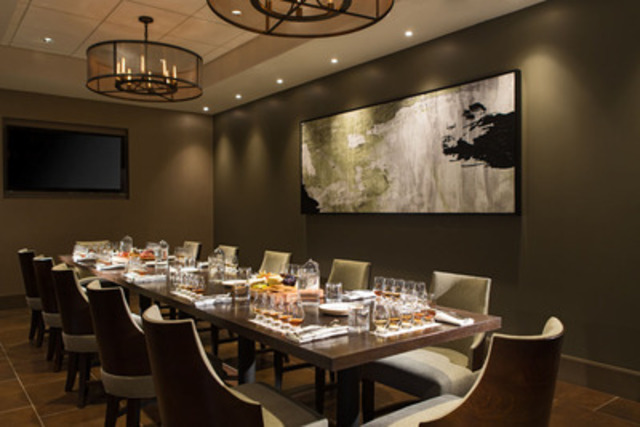 One18 empire whiskey bar and restaurant delights with fine for Best private dining rooms calgary