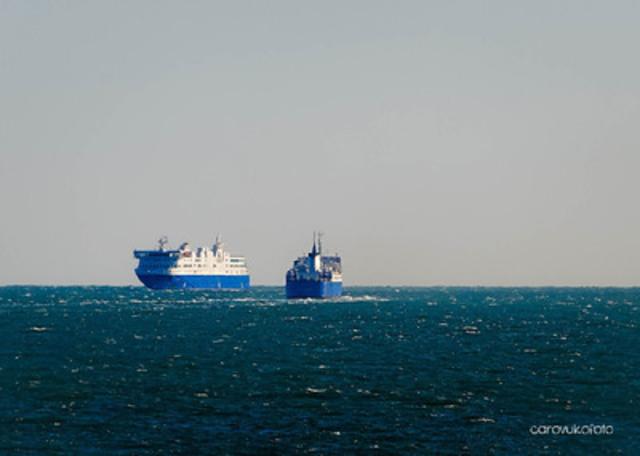 Matane baie comeau godbout ferry the mv f a gauthier for Bureau en gros baie comeau