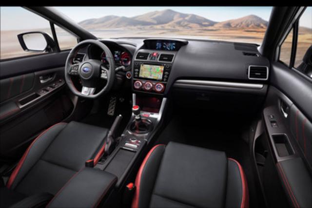2017 Subaru Forester Transmission >> CNW | Subaru Canada Unleashes 2016 WRX STI