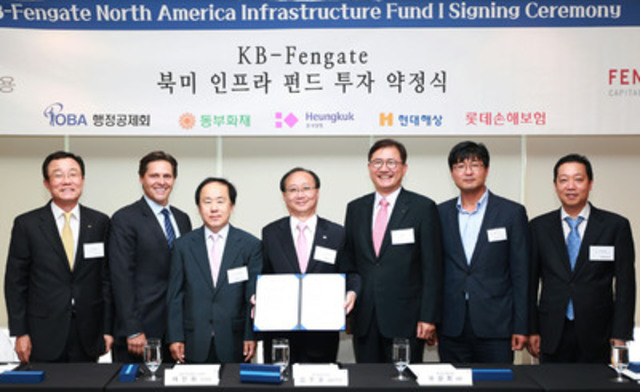 Fengate Capital Management launches US $180M infrastructure fund mandate with Korean ...