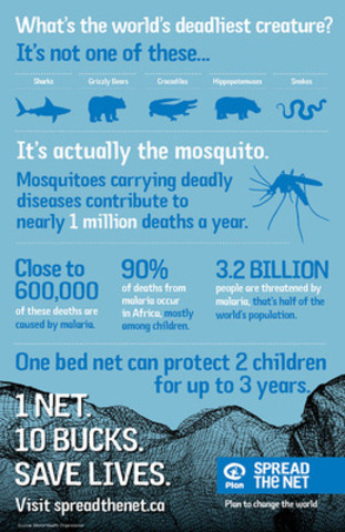 CNW   Join the fight against the world\'s deadliest creature