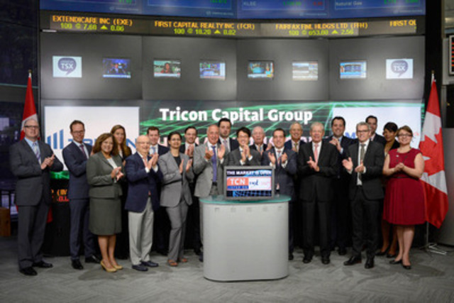 Tricon Capital Group Inc  Opens the Market