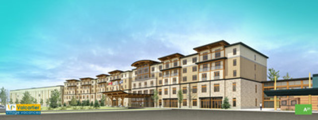 Investissement de 65 millions de dollars village for Hotel parc aquatique interieur quebec