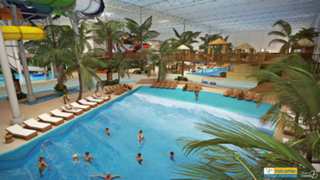 Investissement de 65 millions de dollars village for Village vacances piscine