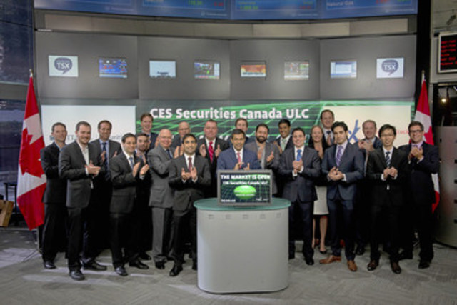 CES Securities Canada ULC Opens the Market