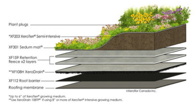 Garage Roofs Minimalist Green Roof Achieves Purpose