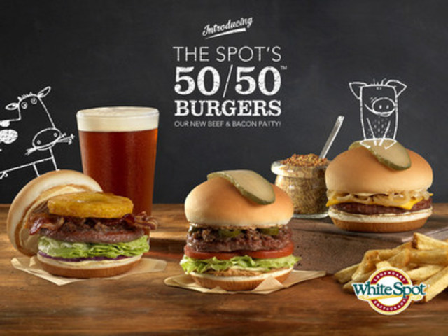 ... Spot launches The Spot's new 50/50™ patty with a new burger lineup