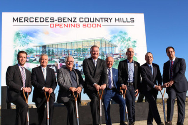 Mercedes benz canada appoints a new dealer in northeast for Mike schmitz mercedes benz dealership