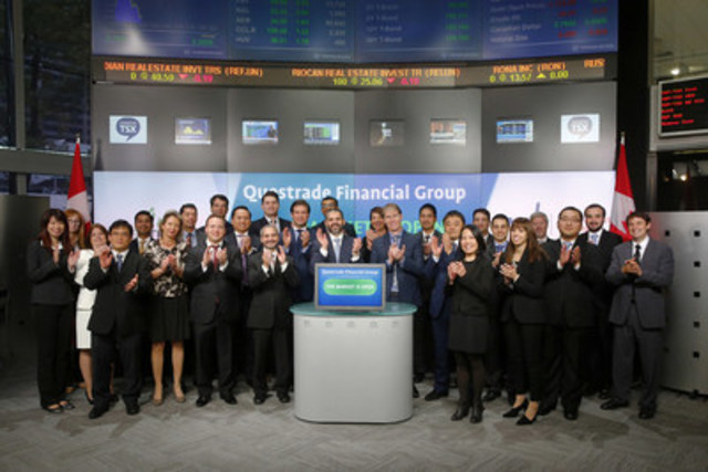 Questrade Financial Group Opens the Market
