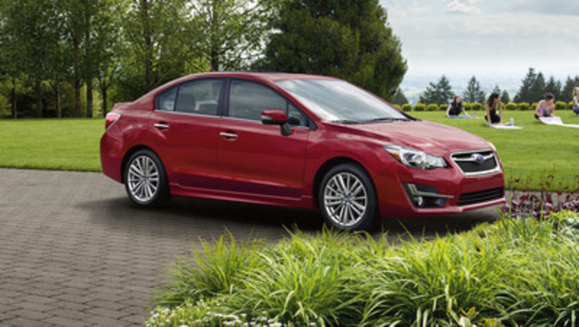 subaru canada announces 2016 impreza pricing. Black Bedroom Furniture Sets. Home Design Ideas