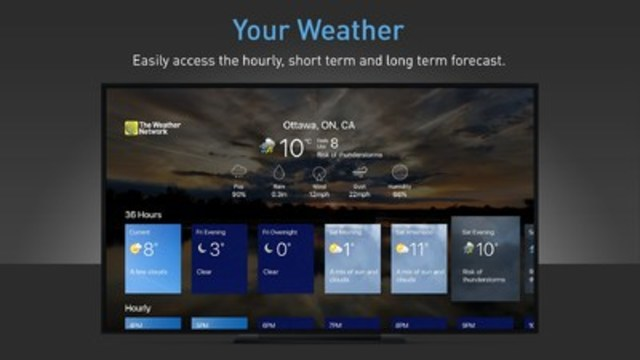 The Weather Network Launches New App For Apple Tv