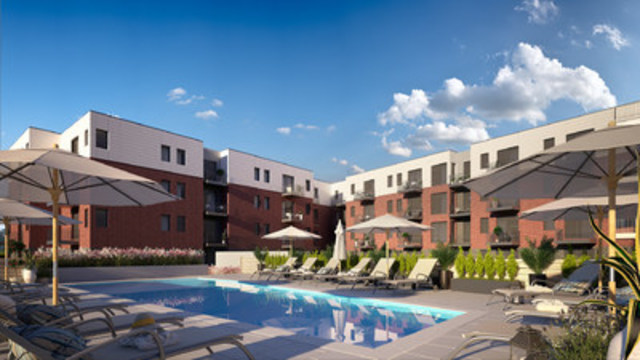 Le meridiem nouveau projet r sidentiel locatif for Ca location immobilier