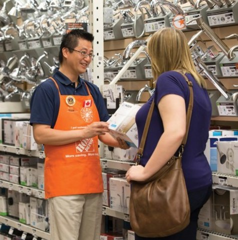 Does Home Depot Offer Customers a Way to Comment on Their Shopping Experiences?