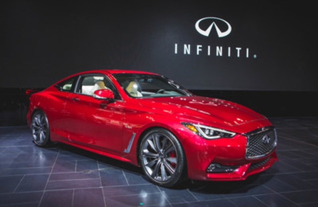 2017 infiniti q60 sports coupe makes national debut at canadian international auto show. Black Bedroom Furniture Sets. Home Design Ideas