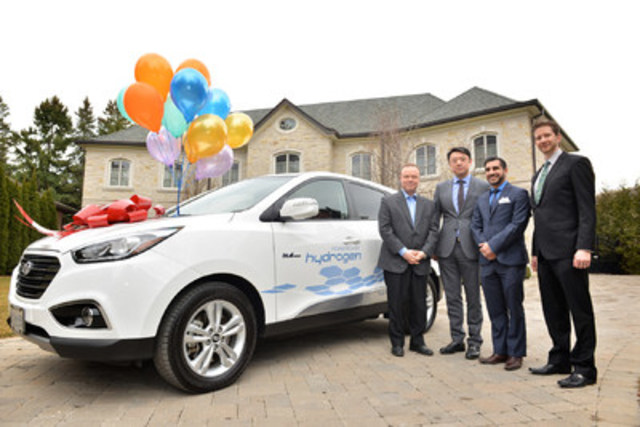 Canada Goose down replica official - Hyundai Delivers First Fuel Cell Vehicle in Ontario - Yahoo ...
