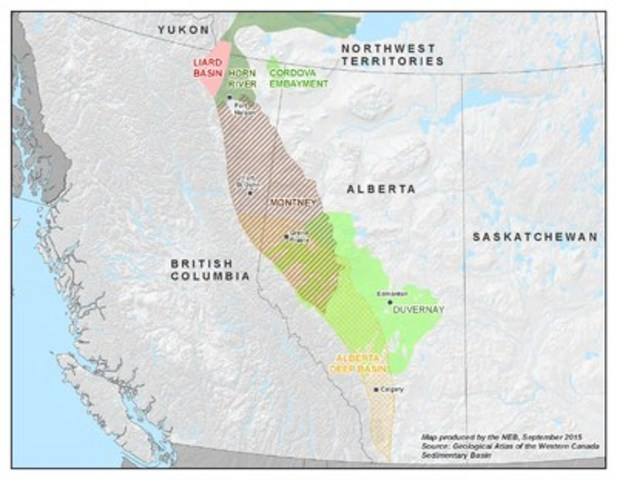 Liard Basin One Of The Largest Shale Gas Resources In The