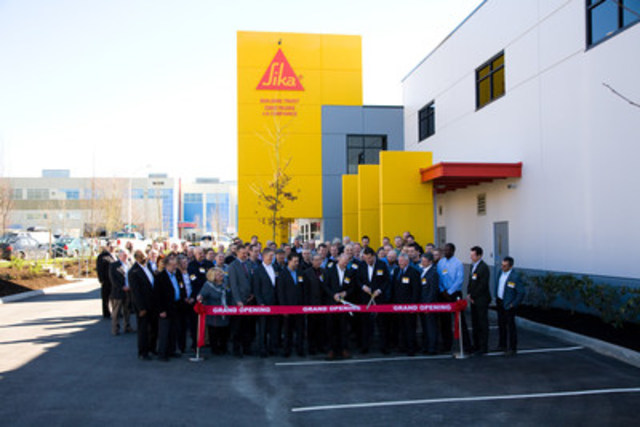Cnw Sika Canada S New Plant In British Columbia Is Now