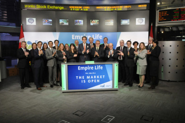 the empire life insurance company opens the market image available at photos newswire ca images 20160329 c1414 photo en 652418 jpg