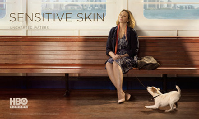 Image with caption quot kim cattrall in key art for sensitive skin season