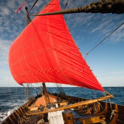 how to make a viking ship sail