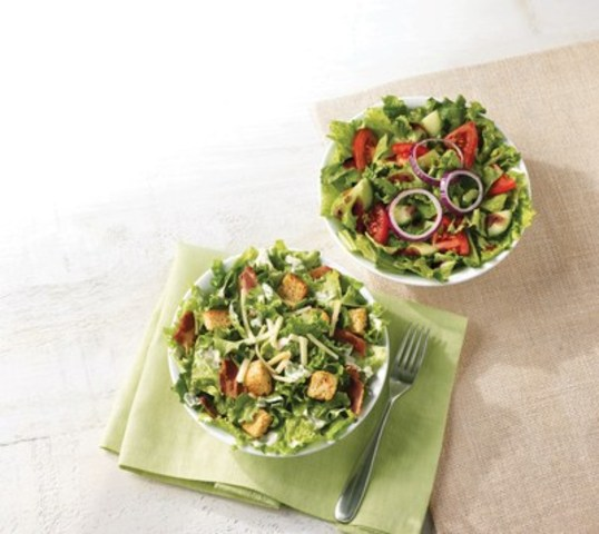 Cnw Tim Hortons Turns Over A New Leaf With Fresh Salads