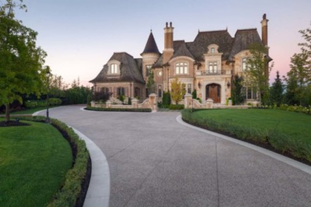French Chateau House Plans Cnw Toronto Is World S Second Hottest Luxury Real Estate