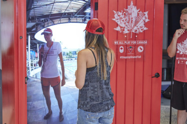 Image available at //photos.newswire.ca/images/download/20160810_C3190_PHOTO_EN_750780.jpg & Canadian Tire\u0027s Red Door to Rio Provides Unprecedented Connection to ...