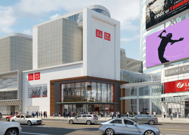 Uniqlo launches first canadian store at cf toronto eaton for Starting a jewelry business in canada