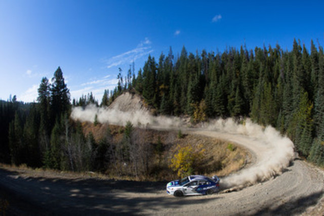 "Image with caption: ""2017 Pacific Forest Rally (CNW Group/Subaru ..."