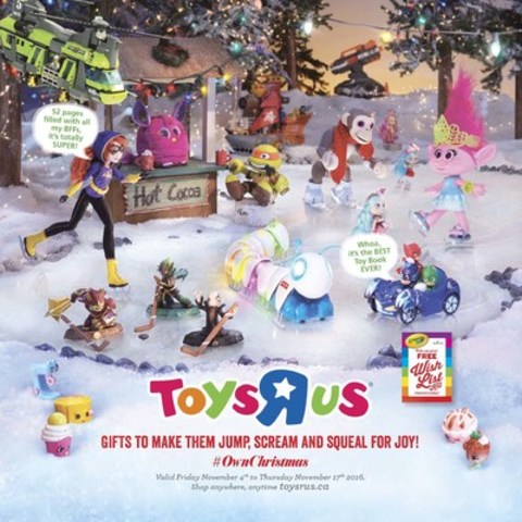 "TOYS""R""Us Canada s 2016 Hot Toy List Makes Gift Giving Easy"
