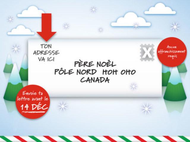 Cnw postes canada est fin pr te pour le courrier du p re no l - Adresse du pere noel la poste ...