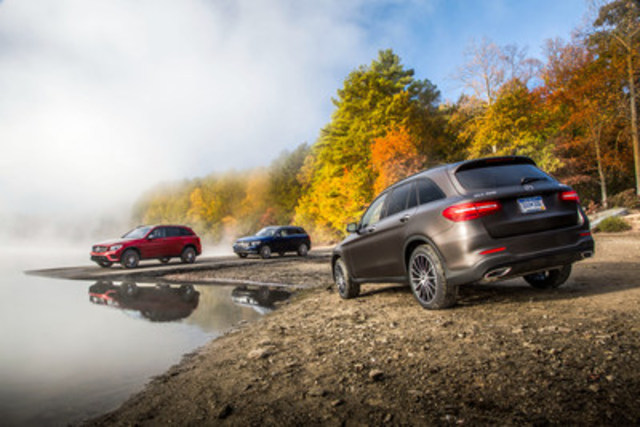Mercedes benz makes its mark on and off the beaten path at for Mercedes benz in canada